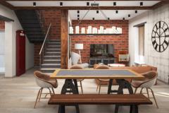интерьер-дома-с-стиле-лофт
