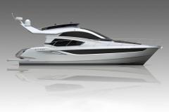 Моторная-яхта-Galeon-430-Skydeck
